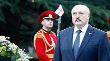 Lukaschenko im April diesen Jahres.