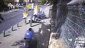 Eine Attacke an einer Bushaltestelle in Jerusalem.