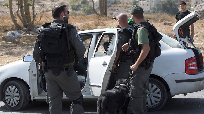 Die Sicherheitslage in Jerusalem ist mehr als nur angespannt.