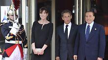 """""""Überdimensioniertes Ego"""": Berlusconi rechnet mit Sarkozy ab"""