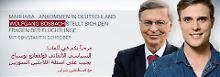 Arabisch mit deutschen Untertiteln: Marhaba, Teil 4: Bosbach antwortet Flüchtlingen