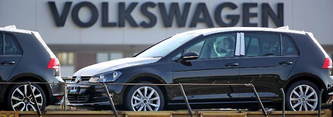 Volkswagen leidet unter der Abgasaffäre.