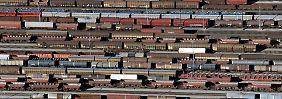 Angeschlagene Gütertransportsparte: Deutsche Bahn plant Stellenabbau
