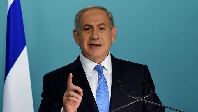 Geschichtsstunde à la Netanjahu: Hitler habe zunächst nur die Vertreibung der Juden aus Europa geplant. Das sei einem palästinensischen Mufti nicht recht gewesen.