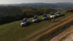 Skoda Euro Trek 2015: Der Yeti macht sich auf den Weg in die Karpaten