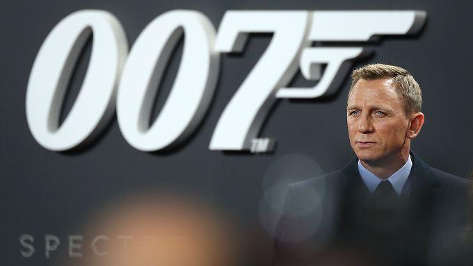 Bei der Premiere in Berlin wieder mal umjubelt: Daniel Craig.