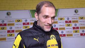 "BVB-Coach Tuchel nach 7:1-Sieg: ""Paderborn war am Anfang sehr mutig"""