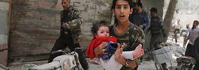 Türkei kann nicht allen Syrern helfen: Der Kampf für die Generation Fassbombe