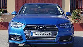 Ja, ist der denn schon Oberklasse?: Audi A4 strotzt vor Selbstsicherheit