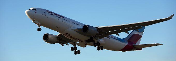Dieses Angebot hat einen Haken: Eurowings bietet 10er-Flugtickets an