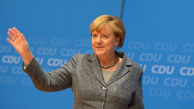 """Angela Merkel:  """"Ich will, dass man eines Tages sagt: Die haben das ordentlich gemacht."""""""
