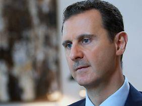Feind der Saudis und Freund der Iraner: Baschar al-Assad.