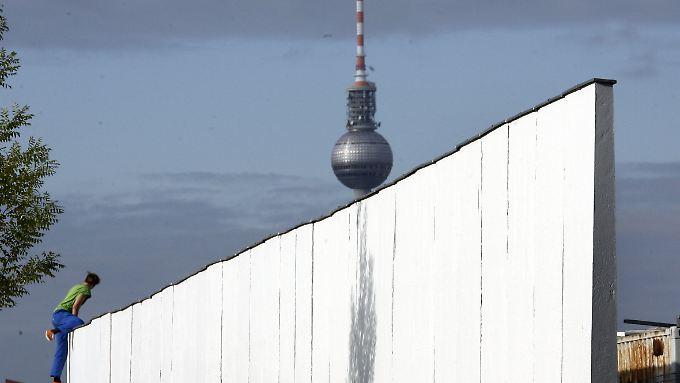 Nicht mehr viel übrig: Auf Mauer-Suche in Berlin