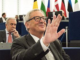 Laut Jean-Claude Juncker ist keine Risikovergemeinschaftung geplant.