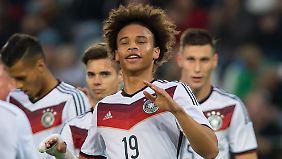 Leroy Sané steht nicht nur bei Schalke und dem DFB-Team hoch im Kurs.