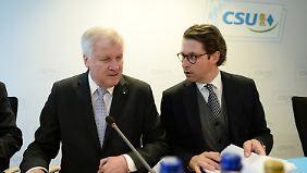 De Maizière beugt sich Kritik: CSU provoziert den nächsten Koalitionskrach