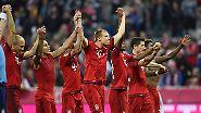 """""""Die spielen in was für einer Liga auch immer - jedenfalls nicht in unserer."""" Sagt Frankfurts Trainer Armin Veh über den FC Bayern - …"""