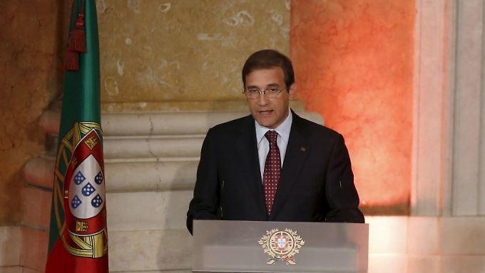 Portugals Ministerpräsident Pedro Passos Coelho.