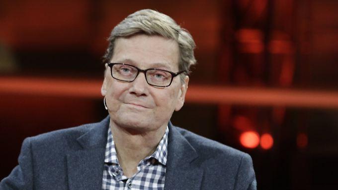 Guido Westerwelle bei einem Fernsehauftritt im vergangenen Jahr.