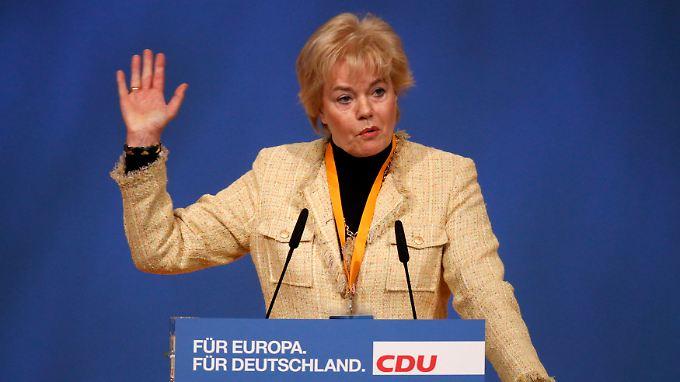 """Das C steht für """"christlich"""": CDU-Politikerin Erika Steinbach gräbt ein altes Schmidt-Zitat aus."""