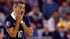 Benzema will bei der Heim-EM für Frankreich auflaufen.