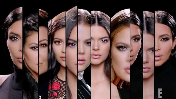 """Fünf Schwestern sind die Stars von """"Keeping Up with the Kardashians"""""""