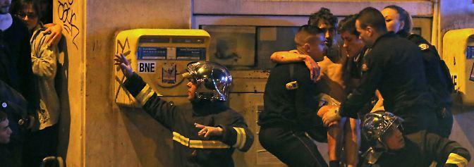 Terror-Nacht in Paris: Über 120 Menschen bei Anschlagserie getötet