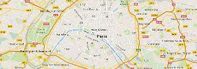 Terror-Attacken in Frankreich: Die Tatorte in der Pariser Innenstadt