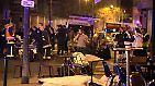 ... mindestens 129 Menschen getötet und 350 zum Teil schwer verletzt.