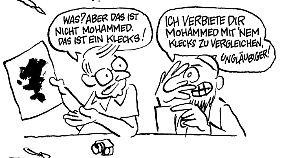 """""""Er hat schon wieder Mohammed gezeichnet."""""""