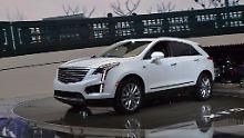 Gegen Audi Q5 und Co.: Cadillac zeigt XT5 in Los Angeles