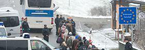 Reduzierung der Flüchtlingszahlen: De Maizière will Grenzkontrollen verlängern