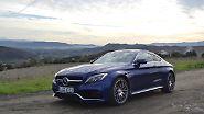 ... bis zum Mercedes-AMG C 63 S mit vier Liter Hubraum und 510 PS.