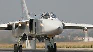 Im Einsatz über Syrien: Russlands Jagdbomber Su-24