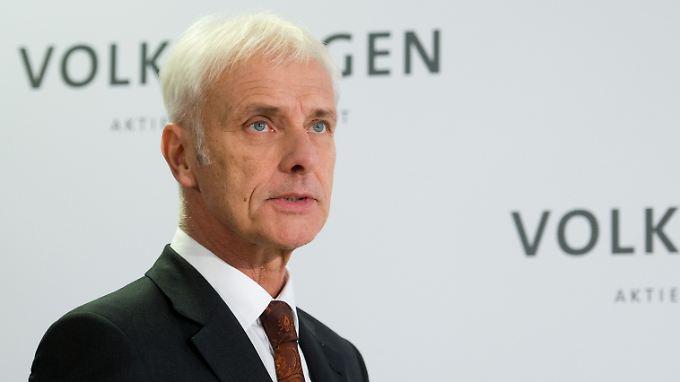 Mann mit Stallgeruch an der VW-Spitze: Matthias Müller.
