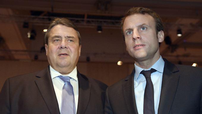 Sigmar Gabriel und Emmanuel Macron wollen die Türkei, Jordanien und den Libanon unterstützen.