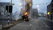 Im Nordirland der 1980er Jahre kommt es immer wieder zu heftigen Unruhen, wie hier in Portadown 1986.