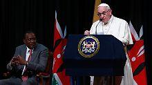 Der Papst findet zu Beginn seines Kenia-Besuchs klare Worte.