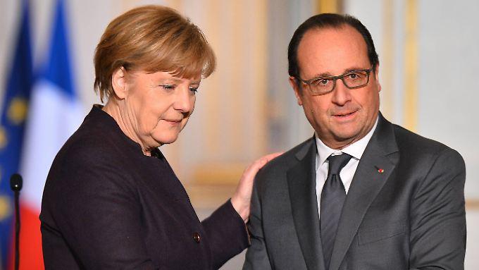 Merkel und Hollande - dieses Tandem soll die EU stärken, fordert Wolfgang Ischinger.