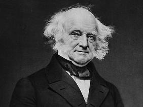 """Der 8. Präsident der USA Martin Van Buren, auch bekannt als """"Old Kinderhook""""."""