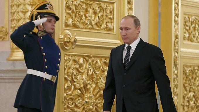 Wladimir Putin erwartet eine Entschuldigung von der Türkei.