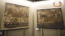 Tausende Jahre altes Diebesgut: Polizei stellt vorrömische Fresken sicher