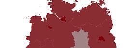 Graues Loch mitten in Deutschland: Wo die deutschen Gründer sitzen
