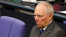 Im Clinch mit der EU-Kommission: Wolfgang Schäuble.