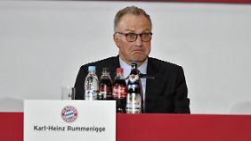 Bayern-Vorstandschef Karl-Heinz Rummenigge fordert von der Uefa eine Modifizierung der Auslosung in der Champions League.
