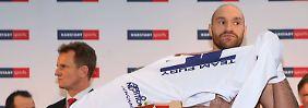 Peinliche Posse vor Klitschko-Fight: Fury-Lager drohte mit Kampfabsage