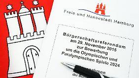 Knappe Entscheidung: Hamburg sagt Nein zu Olympischen Spielen