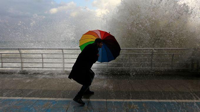 Stürmische Zeiten erfordern besondere Maßnahmen.