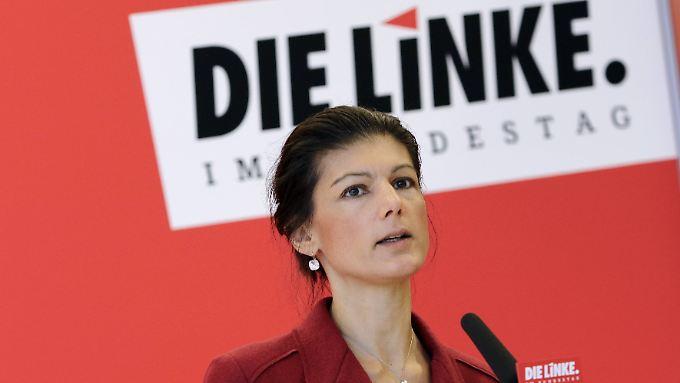 """""""Wir sind doch nicht mehr im Zeitalter 'Zahn um Zahn', wo man Barbarei durch neue Barbarei rächen muss"""", sagt Sahra Wagenknecht."""