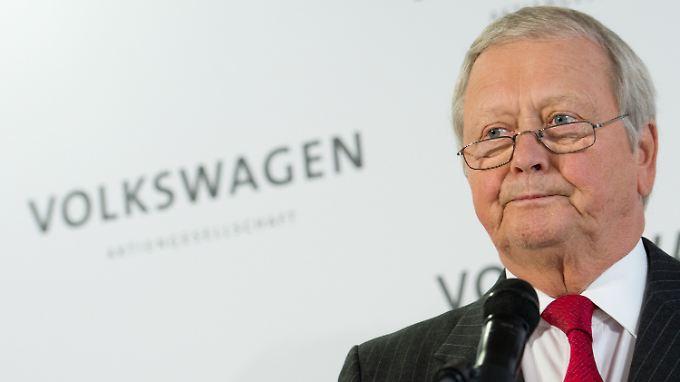 """Wolfgang Porsche soll im Sinne einer """"nachhaltigen Dividendenpolitik"""" für eine höhere Ausschüttung eingesetzt haben."""